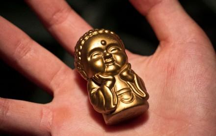 little buddha charm