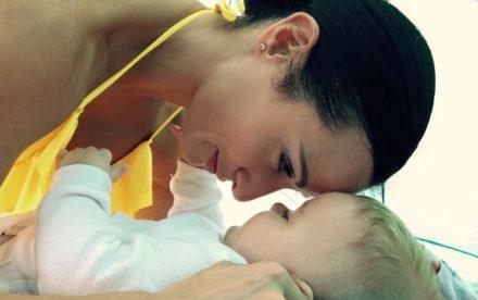 eva and baby