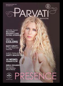 Parvati Magazine Dec 2017 Cover