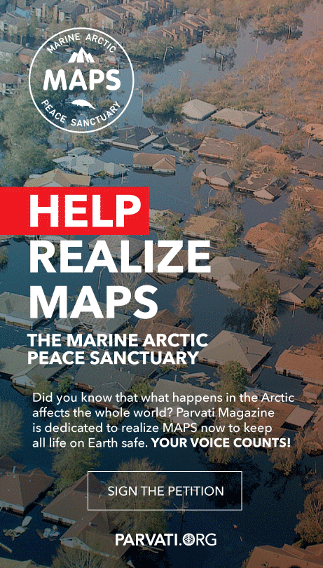Support the Marine Arctic Peace Sanctuary at Parvati.org