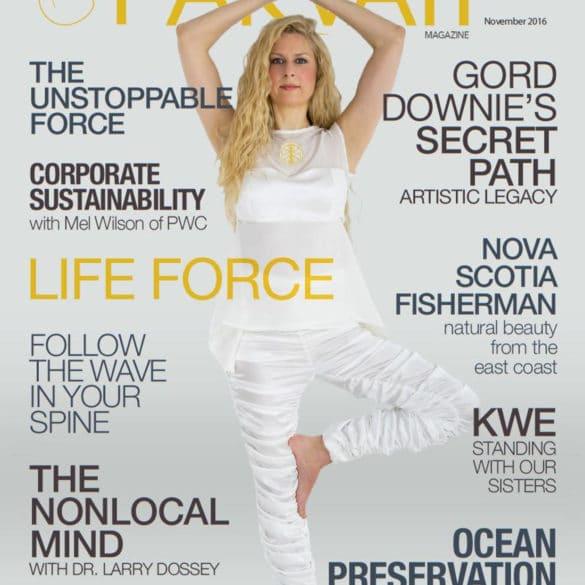 Parvati Magazine November 2016: Life Force cover