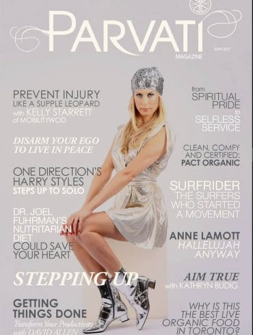 Parvati Magazine June 2017 - Stepping Up-cover