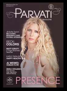 Parvati Magazine Dec 2017 Cover