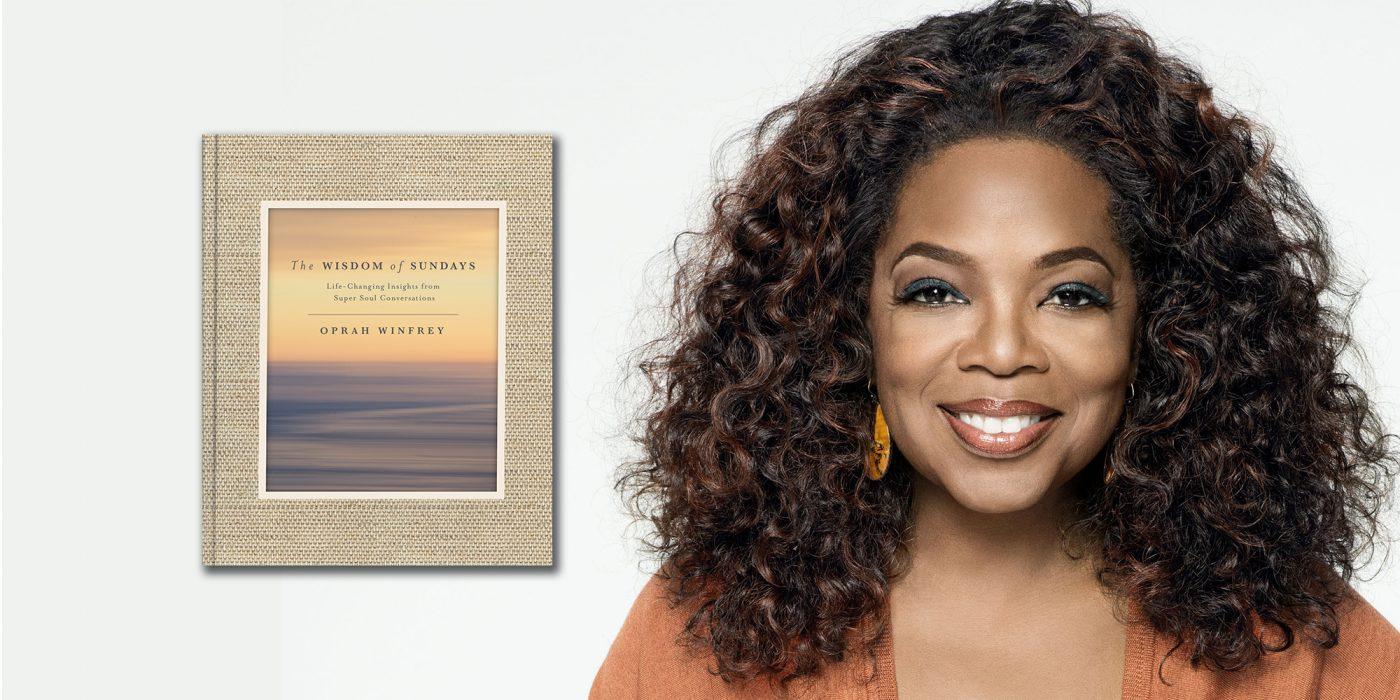 wisdom of sundays, oprah winfrey book