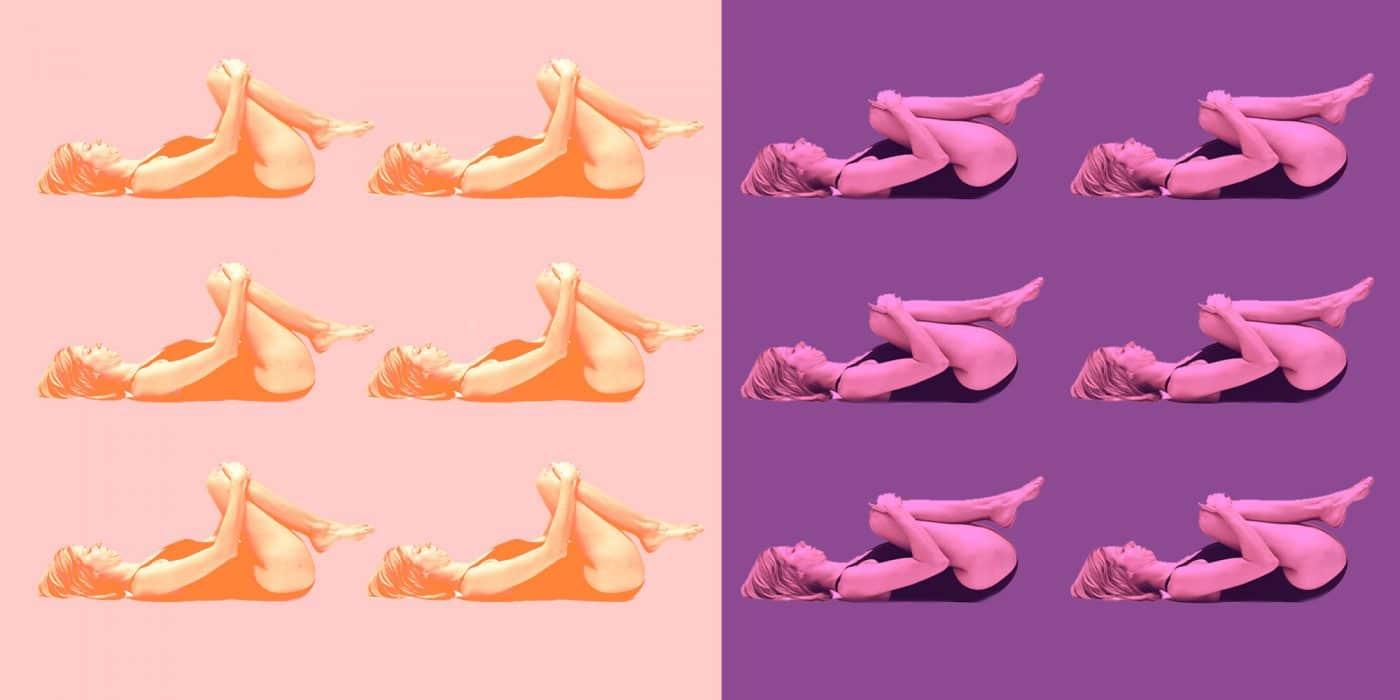 Parvati Magazine YEM Yoga as Energy Medicine - knees to chest