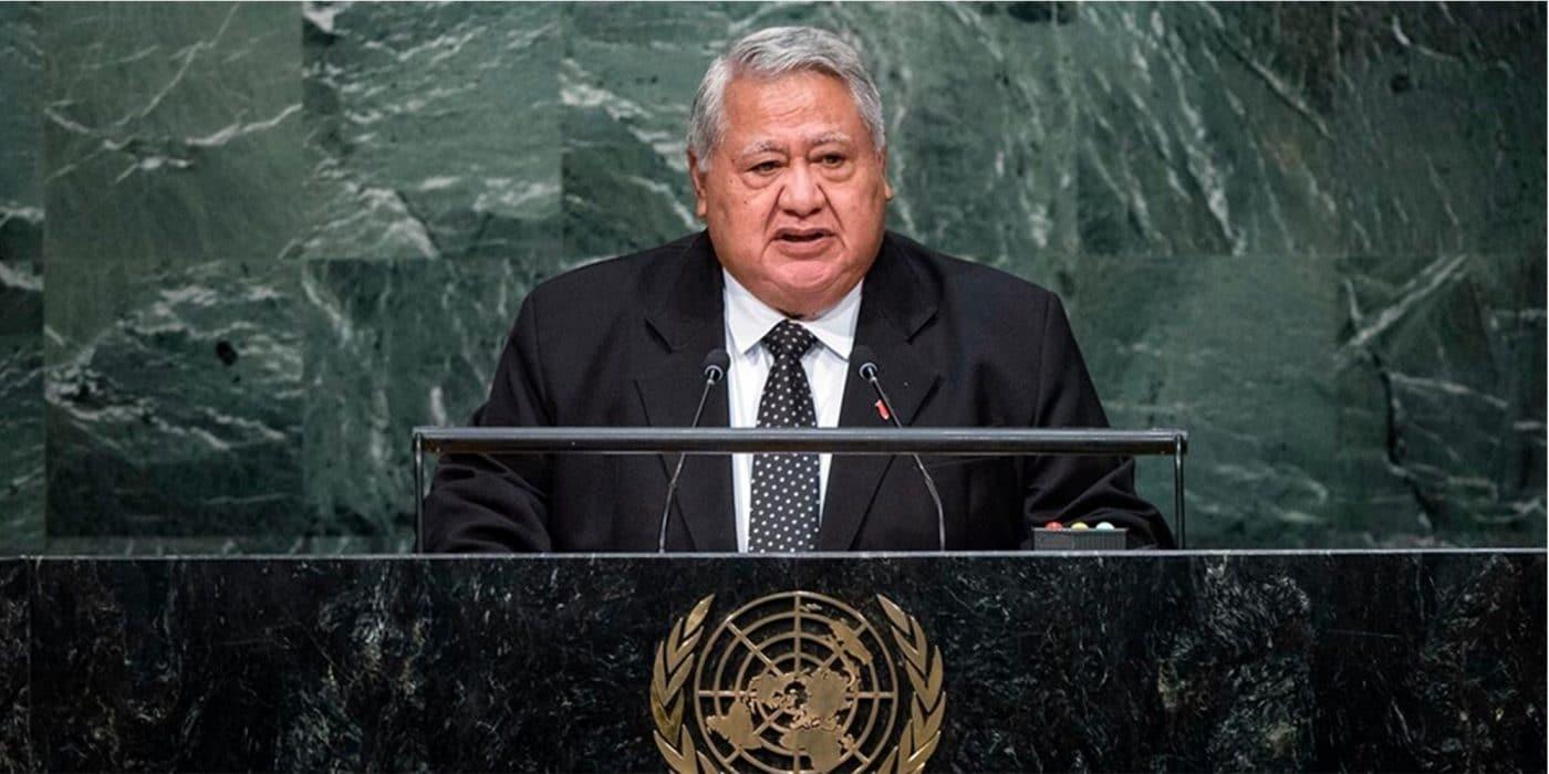Samoa prime minister, Malielegaoi, MAPs treaty