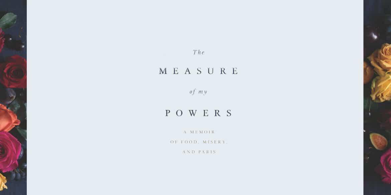 Parvati Magazine Books The Measure of My Powers