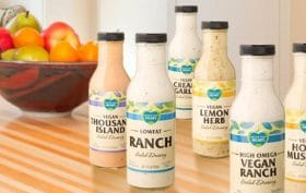Follow Your Heart, vegan ranch dressing,, vegan mayo, dairy alternatives