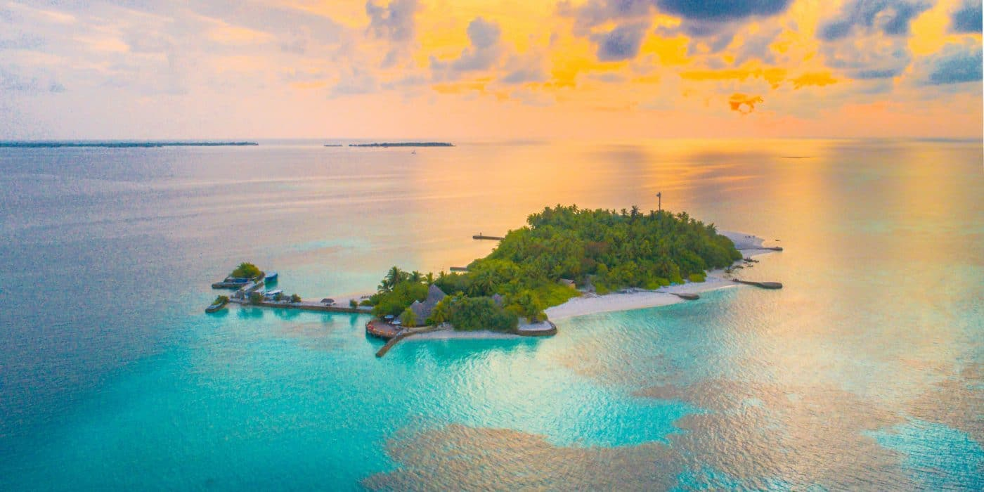 tropical pacific islands