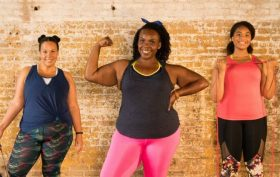 plus-sized fitness, plus size workouts, women's empowerment, body empowerment