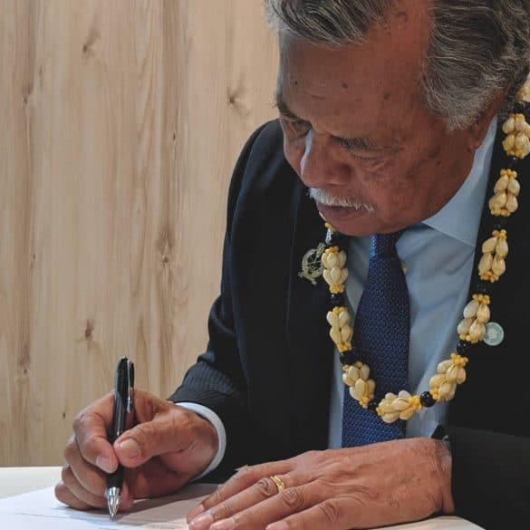 Cook Islands, Prime Minister PUNA, MAPS, Marine Arctic Peace Sanctuary
