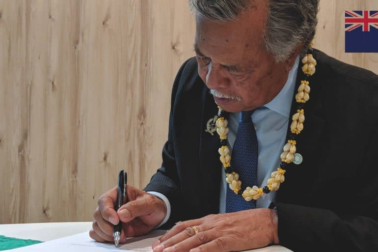 Cook Islands, Prime Minister PUNA, MAPS, Marine Arctic Peace Sanctuary