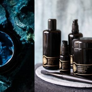 Parvati Magazine Interviews May Lindstrom about her holistic beauty line including the nourishing oil Blue Cocoon