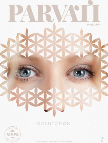 Parvati Magazine: Cover, February 2019: Connection