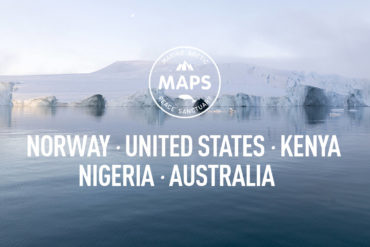MAPS-Norway, USA,Kenya,Nigeria,Australia