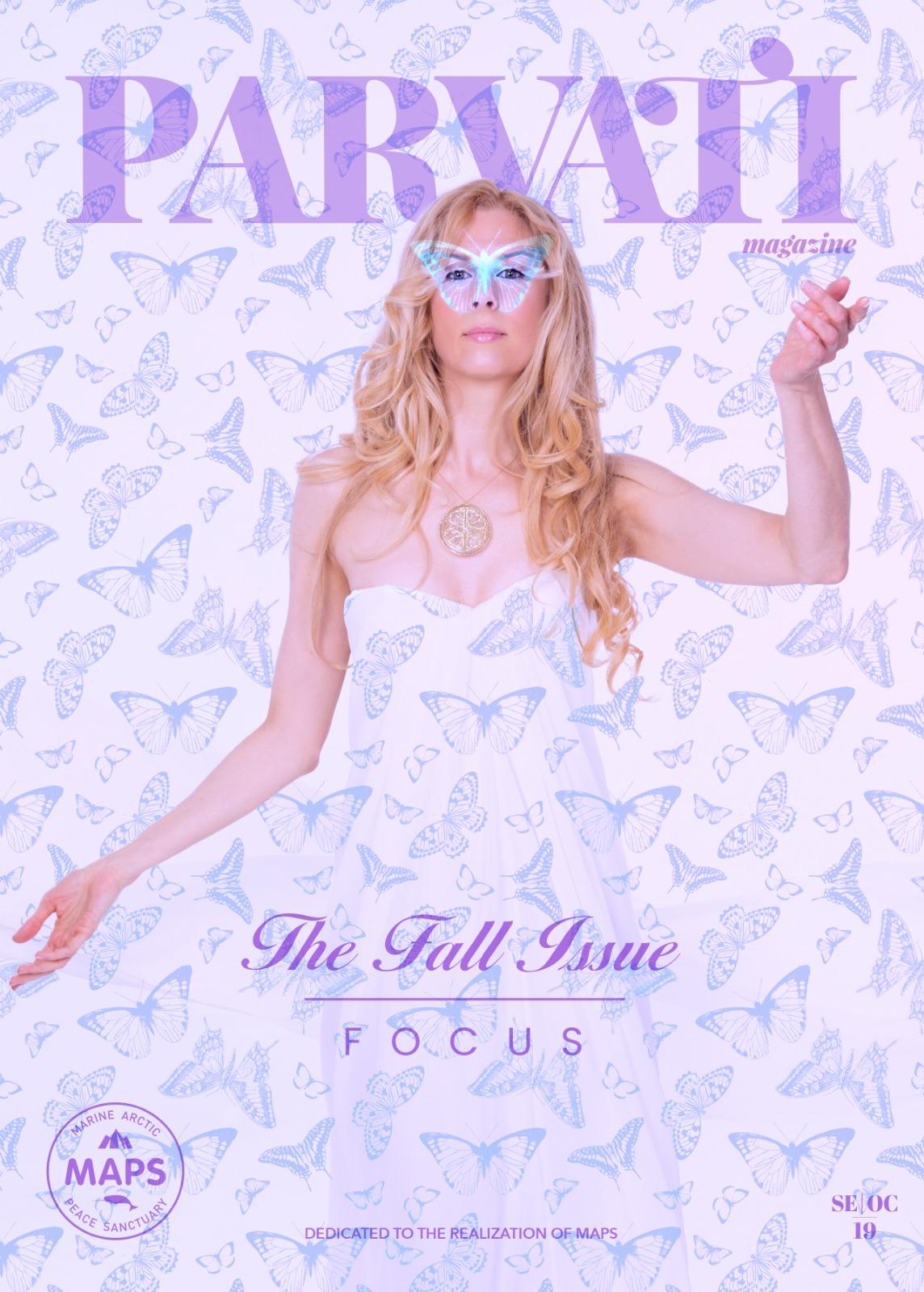 Parvati Magazine Fall 2019: FOCUS - Cover