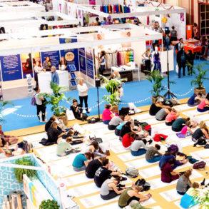 Om Yoga Show London, Yogis Unite MAPS, Parvati Magazine,
