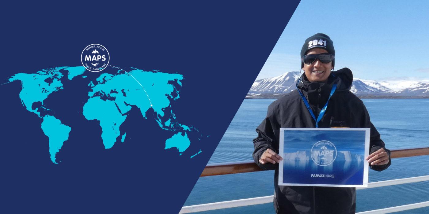 Parvati Magazine, MAPS, Marine Arctic Peace Sanctuary, MAPS Ambassador Spotlight Rituraj Phukan