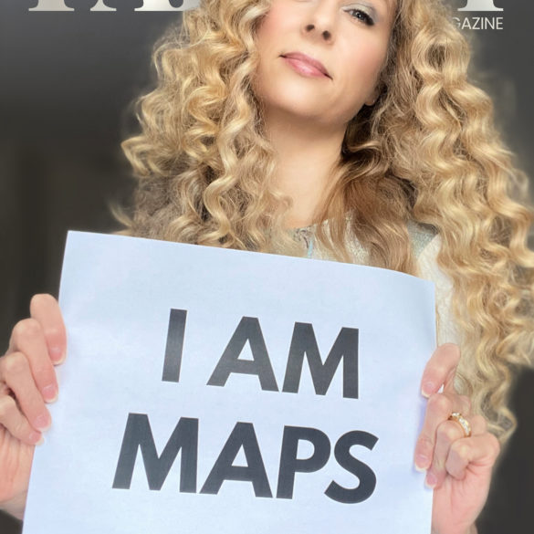 Parvati Magazine, MAPS, Marine Arctic Peace Sanctuary, A Voice for Everyone, March 2020 A Voice for Everyone, cover